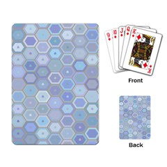 Bee Hive Background Playing Card by Amaryn4rt