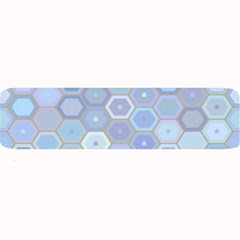 Bee Hive Background Large Bar Mats by Amaryn4rt