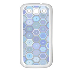 Bee Hive Background Samsung Galaxy S3 Back Case (white) by Amaryn4rt