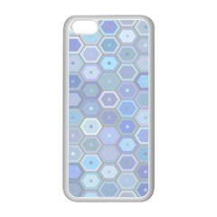 Bee Hive Background Apple Iphone 5c Seamless Case (white) by Amaryn4rt