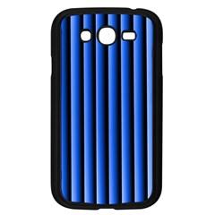 Blue Lines Background Samsung Galaxy Grand Duos I9082 Case (black) by Amaryn4rt