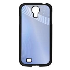 Blue Star Background Samsung Galaxy S4 I9500/ I9505 Case (black) by Amaryn4rt