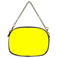 Yellow Color Chain Purses (two Sides)  by Jojostore