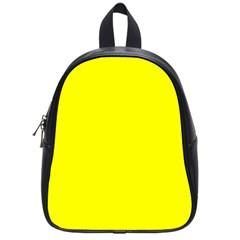 Yellow Color School Bags (small)  by Jojostore