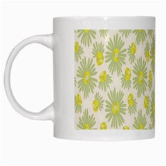 Another Supporting Tulip Flower Floral Yellow Gray White Mugs by Jojostore