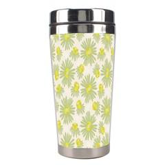 Another Supporting Tulip Flower Floral Yellow Gray Stainless Steel Travel Tumblers by Jojostore