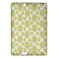 Another Supporting Tulip Flower Floral Yellow Gray Amazon Kindle Fire Hd (2013) Hardshell Case by Jojostore