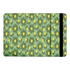 Another Supporting Tulip Flower Floral Yellow Gray Green Samsung Galaxy Tab Pro 10 1  Flip Case by Jojostore