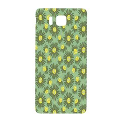 Another Supporting Tulip Flower Floral Yellow Gray Green Samsung Galaxy Alpha Hardshell Back Case by Jojostore