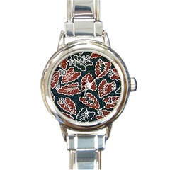 Batik Java Round Italian Charm Watch by Jojostore