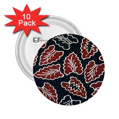 Batik Java 2 25  Buttons (10 Pack)  by Jojostore