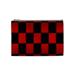 Board Red Black Cosmetic Bag (medium)  by Jojostore