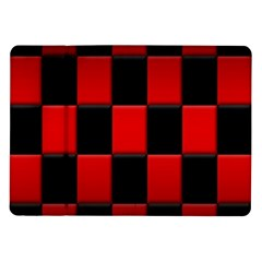Board Red Black Samsung Galaxy Tab 10 1  P7500 Flip Case by Jojostore