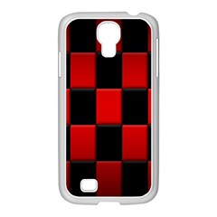 Board Red Black Samsung Galaxy S4 I9500/ I9505 Case (white) by Jojostore
