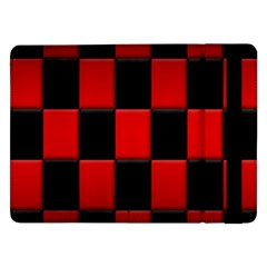 Board Red Black Samsung Galaxy Tab Pro 12 2  Flip Case by Jojostore