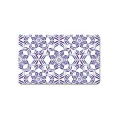 Better Blue Flower Magnet (name Card) by Jojostore