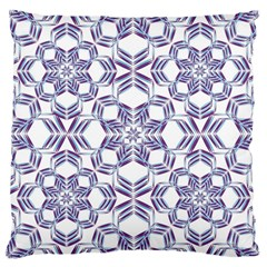 Better Blue Flower Large Cushion Case (two Sides) by Jojostore