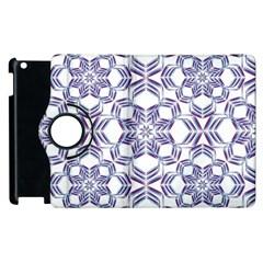 Better Blue Flower Apple Ipad 2 Flip 360 Case by Jojostore
