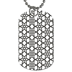 Coloring Squares Star Dog Tag (one Side) by Jojostore
