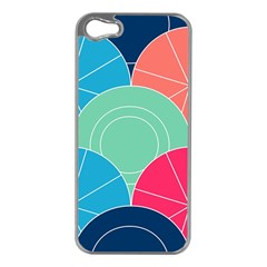Diagonal Color Way Apple Iphone 5 Case (silver) by Jojostore