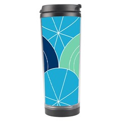 Diagonal Color Way Travel Tumbler by Jojostore