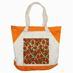 Flower Accent Tote Bag by Jojostore
