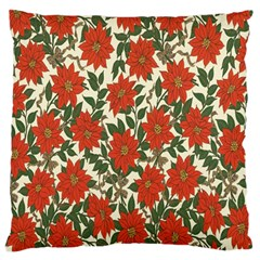 Flower Large Cushion Case (two Sides) by Jojostore
