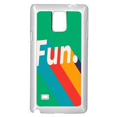 Fun Samsung Galaxy Note 4 Case (white) by Jojostore