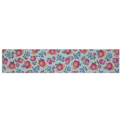 Fruit Flower Red Flano Scarf (small) by Jojostore
