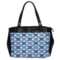 Geometri Flower Office Handbags by Jojostore