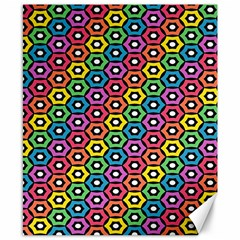 Geometric Pattern Single Page Canvas 8  X 10  by Jojostore