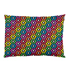 Geometric Pattern Single Page Pillow Case by Jojostore