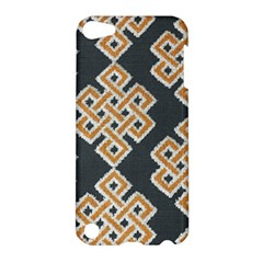 Geometric Cut Velvet Drapery Upholstery Fabric Apple Ipod Touch 5 Hardshell Case by Jojostore