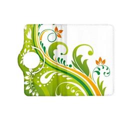 Leaf Flower Green Floral Kindle Fire Hd (2013) Flip 360 Case by Jojostore