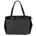 Linen Solid Fabric Office Handbags (2 Sides)  Front