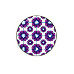 Link Scheme Analogous Purple Flower Hat Clip Ball Marker (10 Pack) by Jojostore