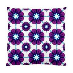 Link Scheme Analogous Purple Flower Standard Cushion Case (one Side) by Jojostore