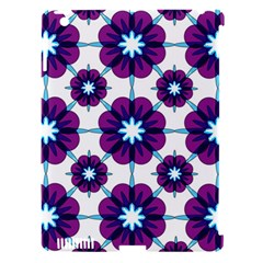 Link Scheme Analogous Purple Flower Apple Ipad 3/4 Hardshell Case (compatible With Smart Cover) by Jojostore
