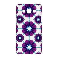 Link Scheme Analogous Purple Flower Samsung Galaxy A5 Hardshell Case  by Jojostore