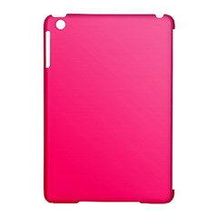 Pink Color Apple Ipad Mini Hardshell Case (compatible With Smart Cover) by Jojostore