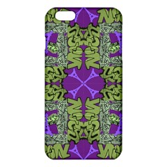 Paris Eiffel Tower Green Purple Iphone 6 Plus/6s Plus Tpu Case by Jojostore