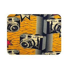Photo Camera Double Sided Flano Blanket (mini)  by Jojostore
