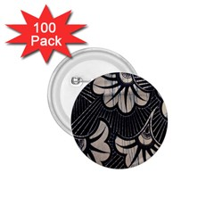 Printed Fan Fabric 1 75  Buttons (100 Pack)  by Jojostore