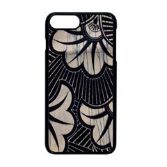 Printed Fan Fabric Apple iPhone 7 Plus Seamless Case (Black) by Jojostore