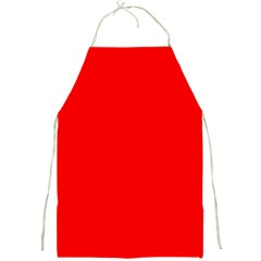 Red Color Full Print Aprons by Jojostore