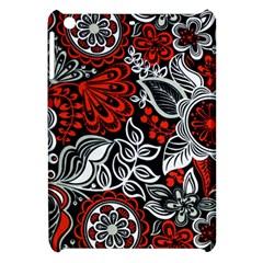 Red Batik Flower Apple Ipad Mini Hardshell Case by Jojostore