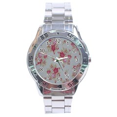 Rose Stainless Steel Analogue Watch by Jojostore