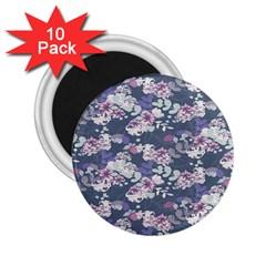 Simple Flower 2 25  Magnets (10 Pack)  by Jojostore