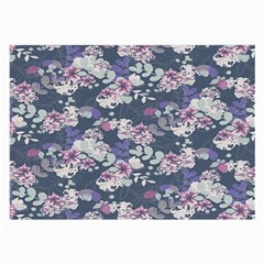 Simple Flower Large Glasses Cloth (2 Side) by Jojostore