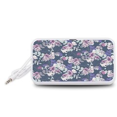 Simple Flower Portable Speaker (white) by Jojostore